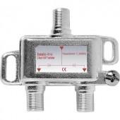 F csatlakozós antenna elosztó 5...2200 MHz, 1 be-/2 kimenet, Renkforce 28455C4E