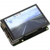 Joy-it RB-Display Kit 3.5 Érintőkijelzős modul 8.9 cm (3.5 coll) 480 x 320 pixel Alkalmas: Raspberry Pi Házzal, Operációs rendszerrel