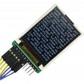 Joy-it RB-TFT1.8 Kijelzőmodul 4.6 cm (1.8 coll) 160 x 128 pixel Alkalmas: Raspberry Pi, Arduino Háttérvilágítással