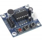 Joy-it Raspberry Pi® bővítő panel Soundrecorder und Abspielmodul ISD1820