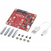 Renkforce USB/mSATA konverter shield Alkalmas: Raspberry Pi