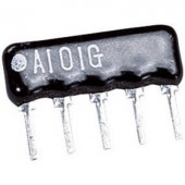 Ellenállás hálózat 100 kΩ SIP-8+1 0.125 W TRU COMPONENTS 1 db