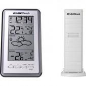 Rádiójel vezérlésű digitális időjárásjelző állomás Basetech 1563419 Előrejelzés 1 napos