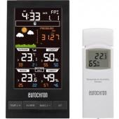 Vezeték nélküli digitális időjárásjelző állomás, 12-24 órás előrejelzés, Eurochron EFWS S250