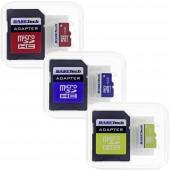 mikro SD kártya 16 GB Basetech Class 10 SD adapterrel 1 db