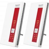 AVM 2er-Set FRITZ!WLAN Repeater 1750E WLAN hatótáv növelő 1.75 Gbit/s 2.4 GHz, 5 GHz