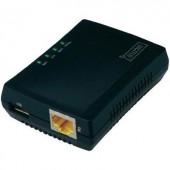 Hálózati USB-s szerver USB 2.0 LAN (10/100 MBit/s) Digitus DN-13020