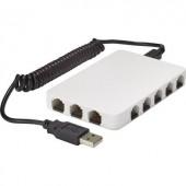 Hálózati switch, RJ45 USB tápellátással 8 port 100 Mbit/s, renkforce