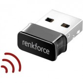 Kétsávos WLAN stick, USB 2.0, 1,2 Gbit/s, Renkforce RF-WIFI-AC1200M