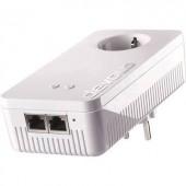 Powerline WLAN, konnektoros internet átvivő bővítő egység 1,2 Gbit/s, Devolo dLAN 1200+ WiFi ac