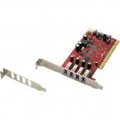 4 port USB 3.0 kontroller kártya USB-A PCI Renkforce