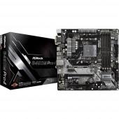 ASRock B450M-Pro4 Alaplap Foglalat AMD AM4 Formafaktor Micro-ATX Alaplapi chipszet AMD® B450