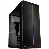 AeroCool ACCM-PV18012.11 Midi torony Gaming doboz, Ház Fekete