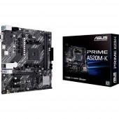 Asus PRIME A520M-K Alaplap Foglalat AMD AM4 Formafaktor Micro-ATX