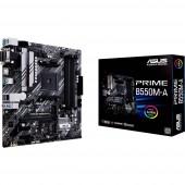 Asus PRIME B550M-A Alaplap Foglalat AMD AM4 Formafaktor Micro-ATX Alaplapi chipszet AMD® B550