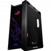 Asus ROG Strix Helios Midi torony Gaming doboz Fekete 3 előre telepített LED-hűtő, 1 előre telepített hűtő, Beépített világítás, Porszűrő, Oldalsó szélvédő