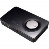 Asus Xonar U7 MKII 7.1 Hangkártya, külső Digitális kimenet, Külső fejhallgató csatlakozó, Külső hangerőszabályozó