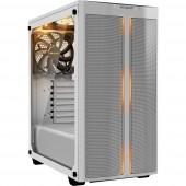BeQuiet PURE BASE 500DX Midi torony Számítógép ház Fehér 3 előretelepített hűtő, Beépített világítás, Oldalsó szélvédő, Porszűrő