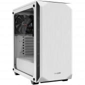 BeQuiet Pure Base 500 Windows Midi torony Számítógép ház, Gaming doboz Fehér 2 előre telepített hűtő, Oldalsó szélvédő, Porszűrő, Hőszigetelt