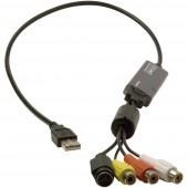 Hauppauge WIN TV USB-Live2 Videó digitalizáló Videószerkesztő szoftverrel, Plug and Play