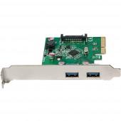 LogiLink PC0080 2 port USB 3.1 kontroller kártya USB-A PCIe
