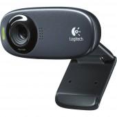 Logitech C310 HD webkamera 1280 x 720 pixel Talp, Csíptetős tartó