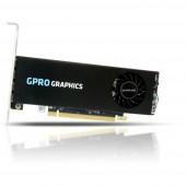 Munkaállomás grafikus kártya AMD GPRO 4300 4 GB GDDR5-RAM PCIe x16 Mini kijelző csatlakozó