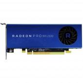 Munkaállomás grafikus kártya AMD Radeon Pro WX 2100 2 GB GDDR5-RAM PCIe x16 Kijelző csatlakozó, Mini kijelző csatlakozó