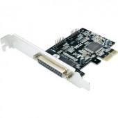 PCI Express párhuzamos kártya, 2/1 port, Digitus