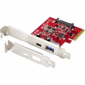 Renkforce RF-4599666 1+1 port USB 3.0 kontroller kártya PCIe