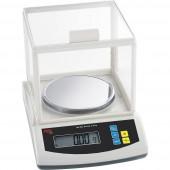 ADE PFA1000 Precíziós mérleg Mérési tartomány (max.) 1 kg Leolvashatóság 0.01 g Elemekről üzemeltetett, Hálózatról üzemeltetett (opcionális) Ezüst, Fekete