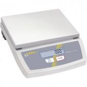 Asztali mérleg Kern FCE 6K2N Mérési tartomány (max.) 6 kg Leolvashatóság 2 g Hálózatról üzemeltetett, Elemekről üzemeltetett Kalibrált ISO