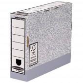 Bankers Box Archiváló doboz 1080001 80 mm x 260 mm x 315 mm Szürke, Fehér 1 db