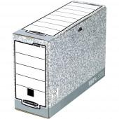Bankers Box Archiváló doboz 1080501 111 mm x 265 mm x 327 mm Karton Szürke, Fehér 1 db