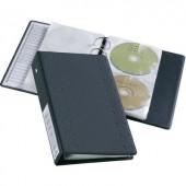 Lefűzhető CD/DVD/Blu Ray mappa, gyűrűs tartó 10 lapos tokkal 20 lemez részére Durable 5204-58