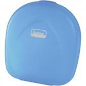Hama Cd táska Műanyag, Polipropilén Kék, Átlátszó 1 db (Sz x Ma x Mé) 145 x 155 x 38 mm 51334