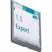 Durable CLICK SIGN - 4862 (Sz x Ma) 149 mm x 148.5 mm Grafit 486237