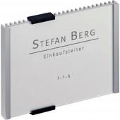 Durable INFO SIGN - 4801 (Sz x Ma) 149 mm x 105.5 mm Fémes, Ezüst 480123