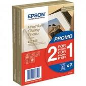 Fénykép papír Epson Premium Glossy Photo Paper C13S042167 10 x 15 cm 255 g/m² 80 lap Magasfényű