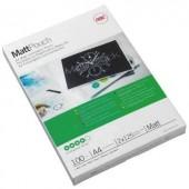 GBC MattPouch lamináló fólia A4, 2x125 mikron vastagságú, 100 ív/csomag