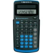 Iskolai számológép, TI-30 eco RS Texas Instruments 30RS/TBL/5E1/A