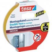 Kétoldalas ragasztószalag beltérre, 5m:19mm, TESA®