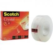 3M SCOTCH® CRYSTAL CLEAR 600 ragasztószalag, 19 mm X 33 m