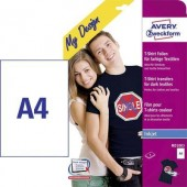 Tintasugaras textilfólia Avery-Zweckform My Design T-Shirt MD1003 DIN A4 Tintasugaras nyomtatóhoz optimálva 4 lap