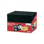 Hama DVD tok Műanyag Fekete 30 db (Sz x Ma x Mé) 14 x 191 x 134 mm