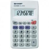 Zsebszámológép, EL-233 S Sharp EL233S