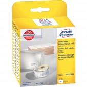 Avery-Zweckform Etikett tekercs Kompatibilis helyettesíti DYMO 11352, S0722520 54 x 25 mm Papír Fehér 500 db Permanens Cím etikett AS0722520