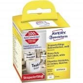 Avery-Zweckform Etikett tekercs Kompatibilis helyettesíti DYMO 1976414 59 x 102 mm Fólia Fehér 50 db Permanens Univerzális etikett A1976414