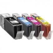 Basetech Tinta helyettesíti Canon PGI-550, CLI-551 Kompatibilis Fekete, Cián, Bíbor, Sárga BTC89 1518,0050-126