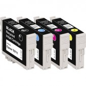 Basetech Tinta helyettesíti Epson T0711, T0712, T0713, T0714 Kompatibilis Fekete, Cián, Bíbor, Sárga BTE107 1607,4005-126